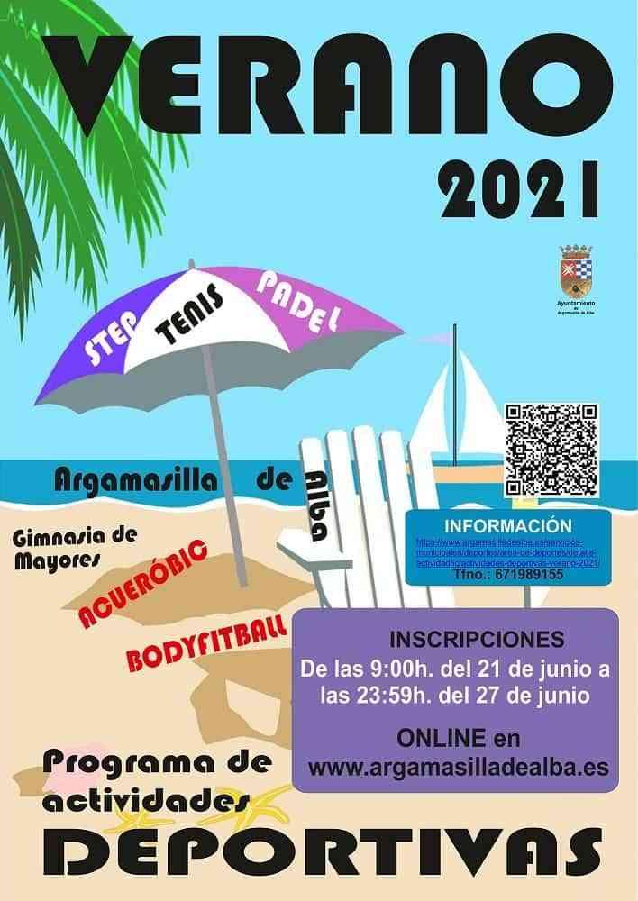 20210616 Deportes Actividades de verano AdeAlba - Regresan las actividades de verano del área de Deportes de Argamasilla de Alba