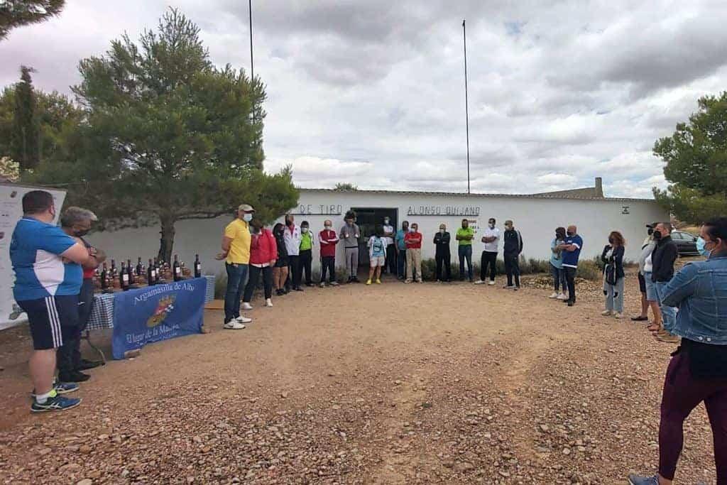 competicion tiro argamasilla de alba - El Alonso Quijano reúne a 72 tiradores en el IV Open 'El Lugar de La Mancha'