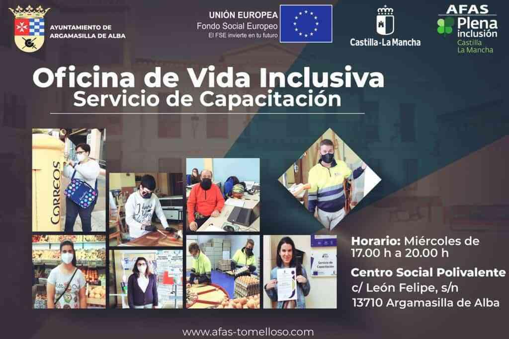 20210716 Apertura de la Oficina de Vida Inclusiva AdeAlba - La Oficina de Vida Inclusiva comenzará a prestar servicio en Argamasilla de Alba en el mes de septiembre