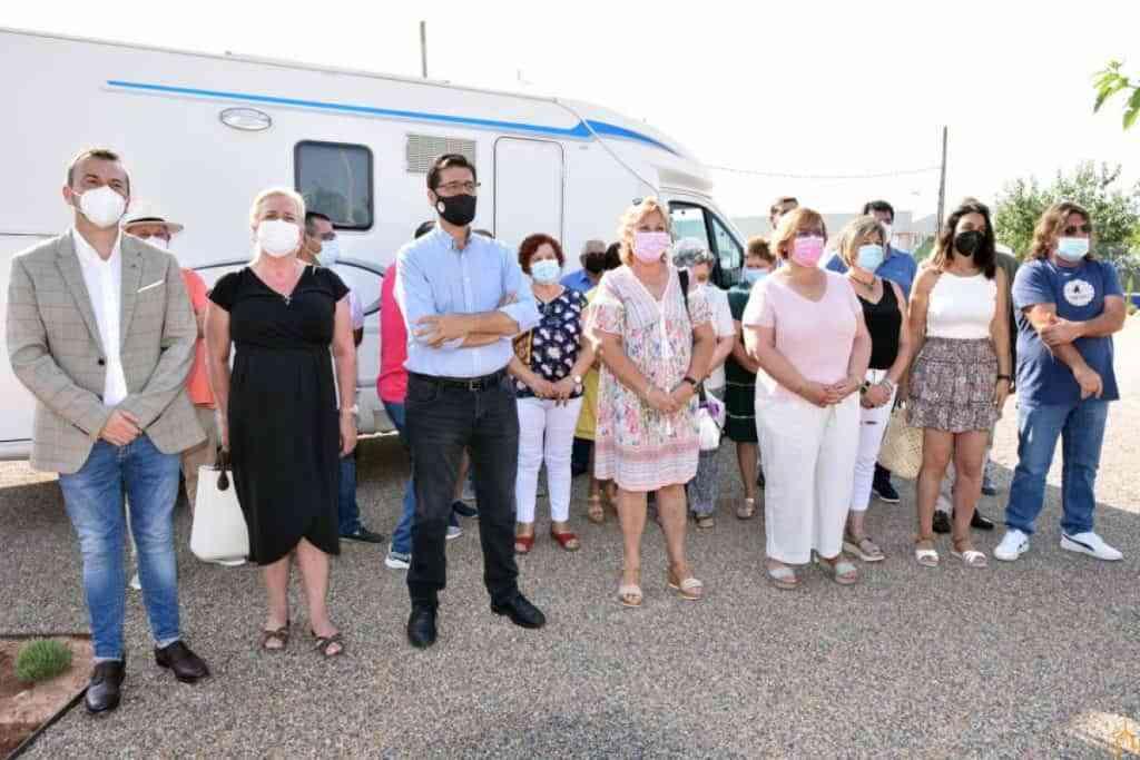 area autocaravanas puerto lapice - Puerto Lápice ha inaugurado su área de autocaravanas, una de las mayores de la provincia