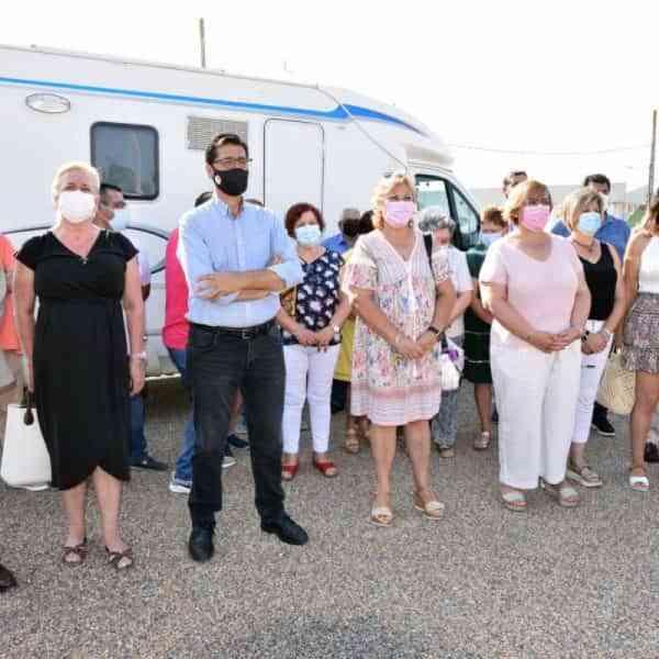 Puerto Lápice ha inaugurado su área de autocaravanas, una de las mayores de la provincia