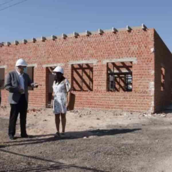 Avanzan obras del nuevo centro de día para mayores de 50 años con discapacidad intelectual en Manzanares