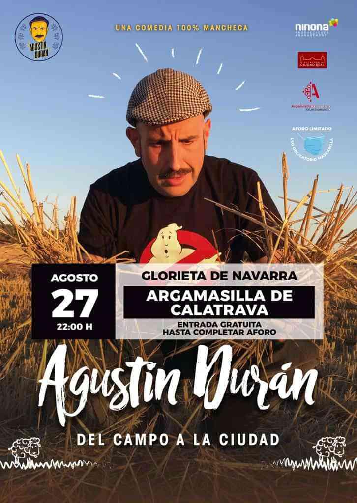 agustin duran - 'Del campo a la ciudad' de Agustín Durán llega el viernes a la Glorieta Navarra