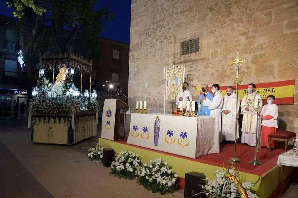 Argamasilla de Alba celebra el dia de su patrona con una misa de accion de gracias - Argamasilla de Alba celebra el día de su patrona con una misa de acción de gracias