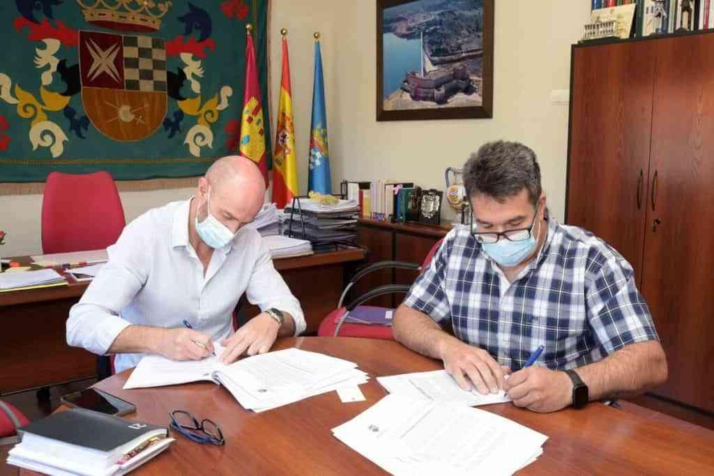 comedor e1630672495693 - Firmaron el contrato de concesión para prestar el servicio de comedor escolar municipal