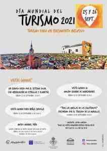 Visitas guiadas el 25 y 26 de septiembre Manzanares por el Día del Turismo