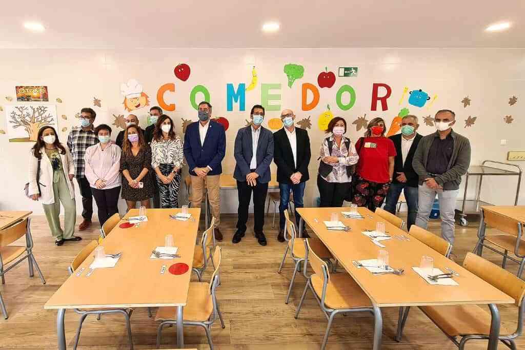comedor para los escolares argamasilla de alba - Argamasilla de Alba ya cuenta con comedor para los escolares desde 3 años de E.I. a 6º de E.P.