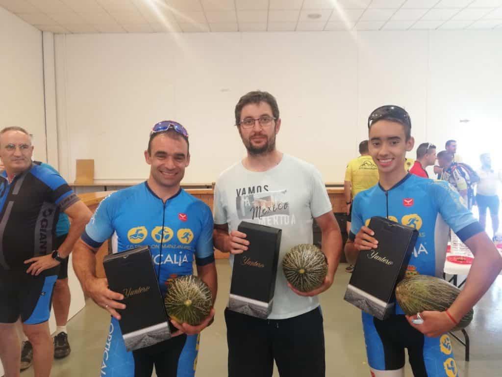 ganadores ruta angeles custodios manzanares - VIII edición de la ruta cicloturista Ángeles Custodios en Manzanares con 75 participantes