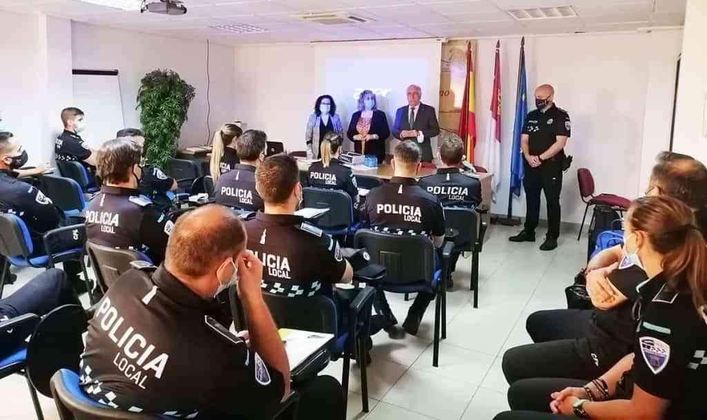 jornada formativa escuela proteccion ciudadana puertollano - Jornada formativa de la Escuela de Protección Ciudadana de Castilla-La Mancha en Puertollano