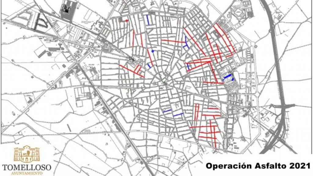 operacion asfalto 2021 tomelloso - 37 calles de Tomelloso incluidas en la Operación Asfalto 2021 con una inversión de un millón de euros